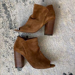 Jessica Simpson open toe Booties - Like new!!! 7.5